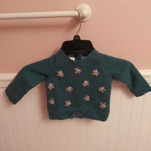 Koala Kids Embroidered Floral Top
